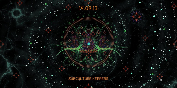 "Our label support party ""Subculture Keеpers"" by Damaru Group"